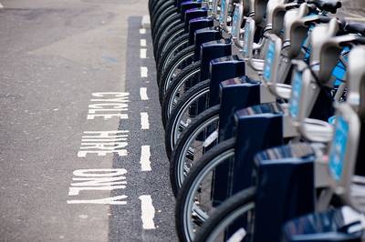 Barclays Cycle Hire project scheme, London, United Kingdom