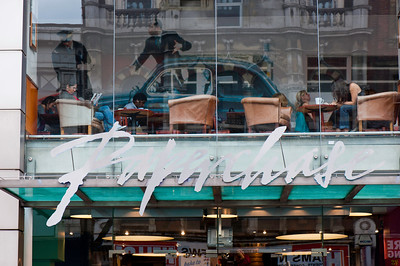 Paperchase shop on Tottenham Court Road, London, United Kingdom