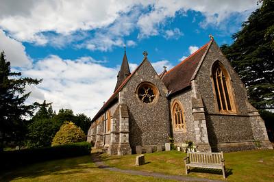 Christ Church, Chorleywood, Hertfordshire, England, United Kingdom