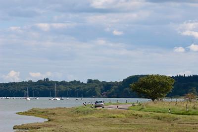 River Orwell near Ipswich, Suffolk, England, United Kingdom
