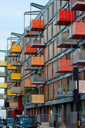 Modern apatments in east London, London, United Kingdom