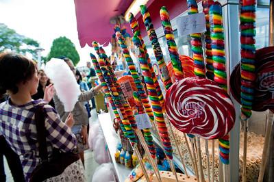 Traditional sweets on sale, London, United Kingdom
