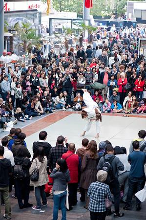 Japan festival at Spitalfields Market, London, United Kingdom