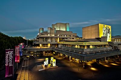 Royal National Theatre, Southbank, London, United Kingdom