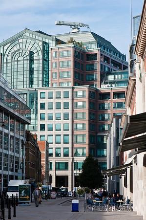 Brushfield Street by Spitalfields Market, E1, London, United Kingdom
