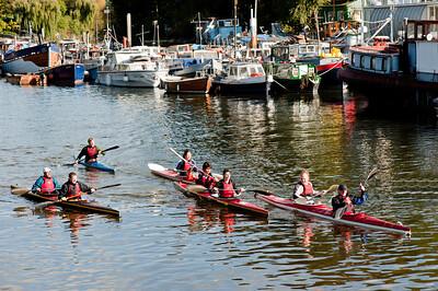 Thames River, Twickenham, Surrey, United Kingdom