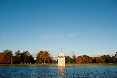 Diana Fountain in Bushy Park, Surrey, United Kingdom