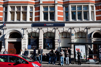 NatWest Bank, Earls Court, SW5, London, United Kingdom