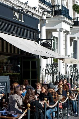 Paul cafe in South Kensington, SW7, London, United Kingdom