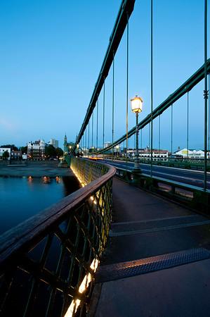 Hammersmith Bridge, Hammersmith, W6, London, United Kingdom