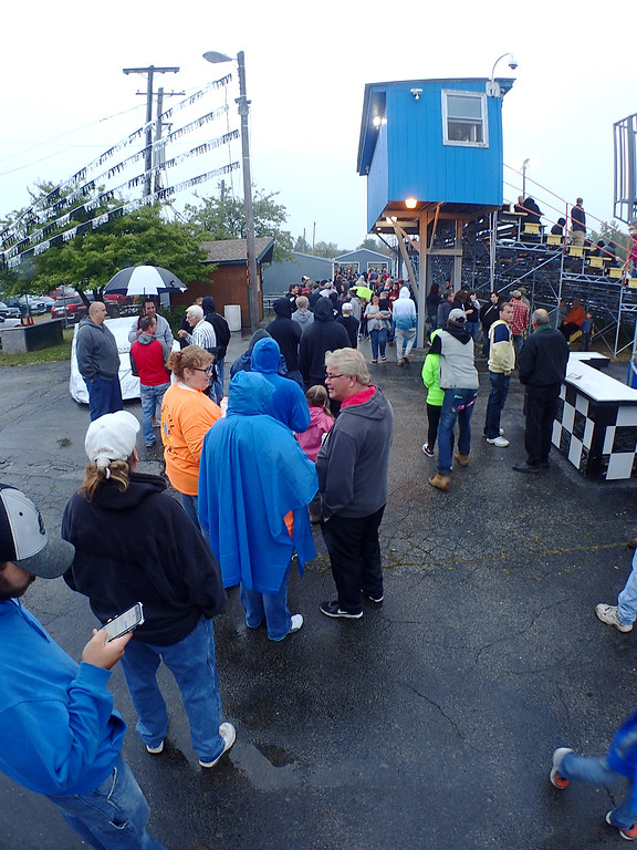 . Jonathan Tressler - The News-Herald. The line to the concession stand at The Painesville Speedway Sept. 2 stretched past the gate, full of hungry and thirsty race fans who braved the rain to support their local racetrack and its new owners.