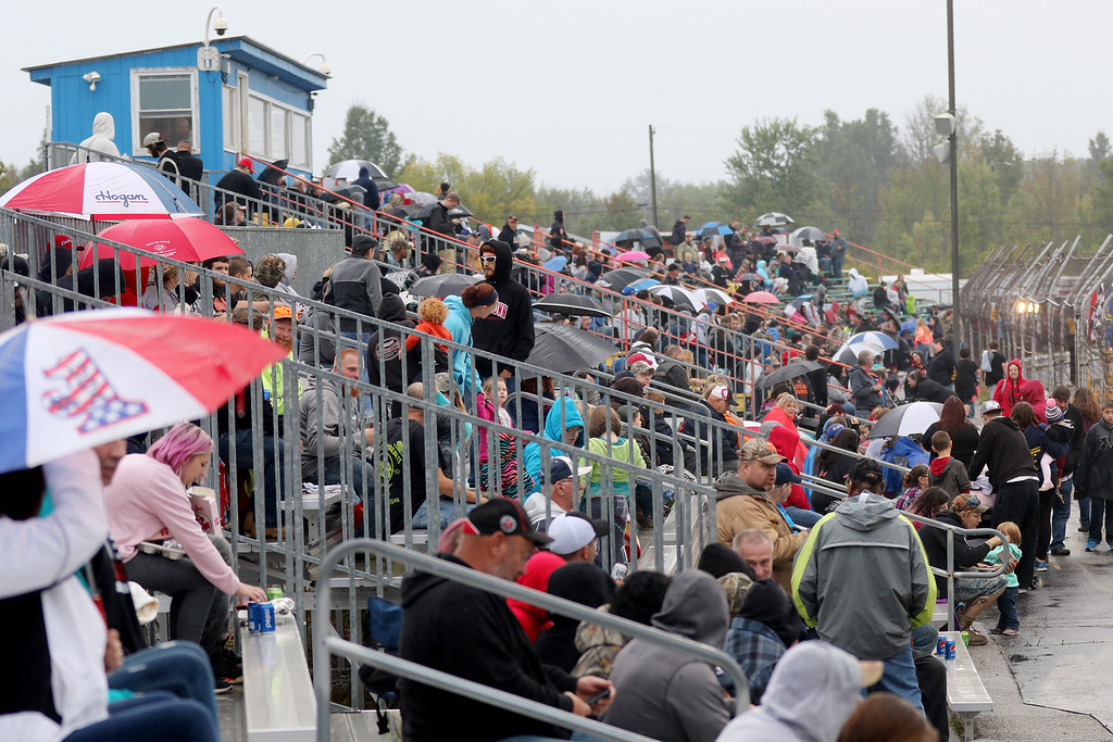 . Jonathan Tressler - The News-Herald. A scene from The Painesville Speedway�s grand opening Sept. 2