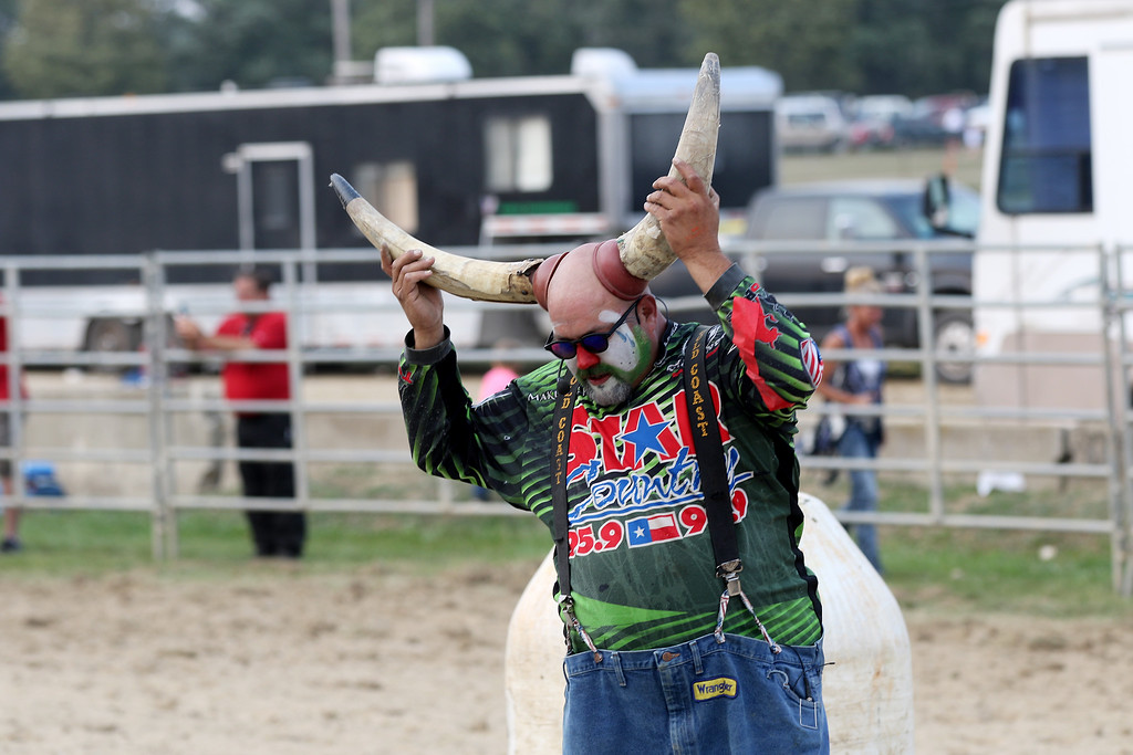 . Jonathan Tressler - The News-Herald. A scene from the last day of the 195th Annual Great Geauga County Fair.