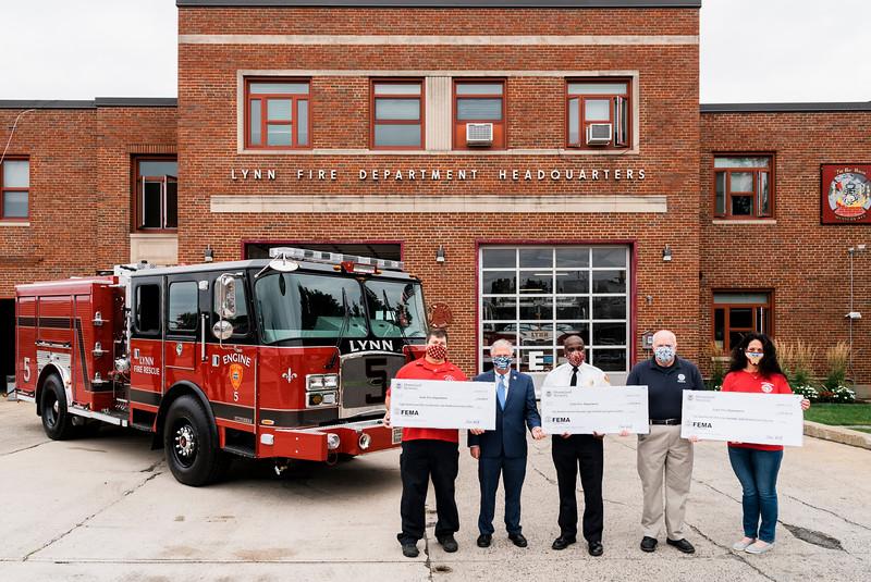 9 18 20 Lynn fire department ladder truck grant 2