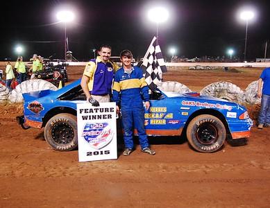 #57jr Clayton Garrett Mini-Stock Feature Winner