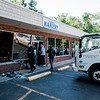 9 19 20 Peabody Truck into bakery
