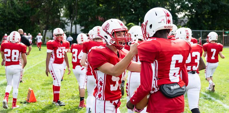 9 22 18 Salem at Saugus football 9