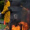 9 22 18 Saugus Ironwork iron pour 1