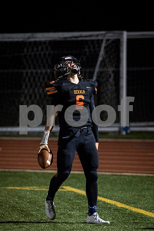 Sam Buckner for Shaw Media.<br /> Noah Valin yells out after scoring a touchdown against Carmel on Friday September 1, 2017.