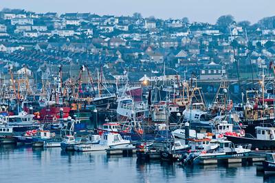 Harbour in Newlyn, Penzance, Cornwall, United Kingdom