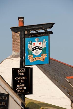 Local pub, Newlyn, Cornwall, United Kingdom