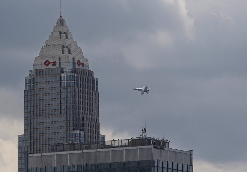. 3-day Cleveland National Air Show successful at Bruke Lakefront Airport. This year�s show headliner was the U.S. Air Force Thunderbirds, the Air Force�s official air demonstration team. (Tim Phillis/The News-Herald)