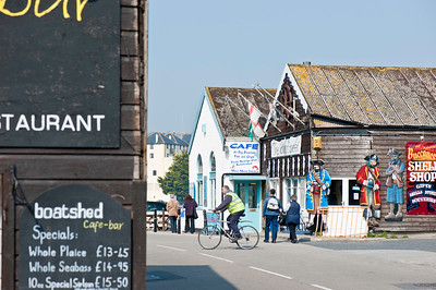 Penzance, street scene, Cornwall, United Kingdom