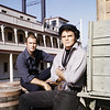 Burt Reynolds with Darren McGavin