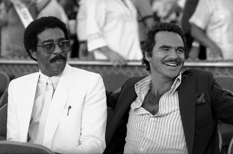 Burt Reynolds and comedian Richard Pryor