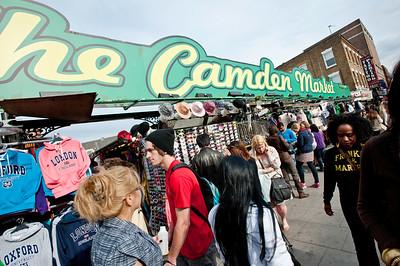 Market in Camden, NW1, London, United Kingdom