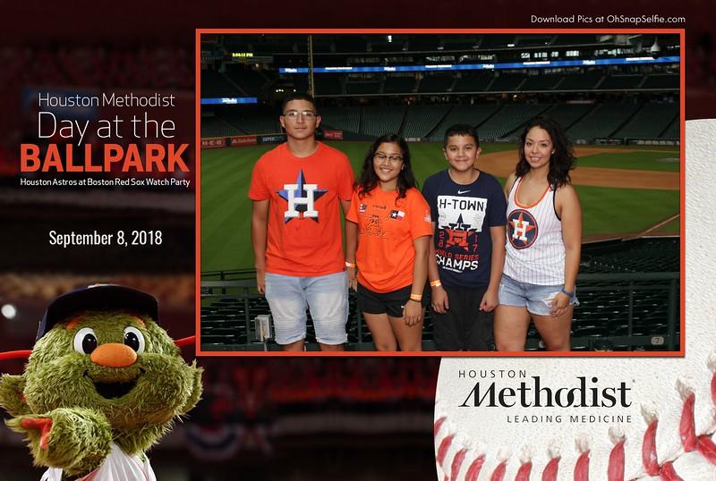 090818 - Houston Methodist Day at the Ball Park