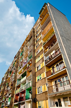 Housing Estate, Majowka, Starachowice, Poland