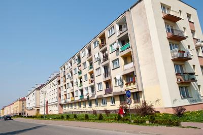 Housing estate Majowka, Starachowice, Poland