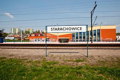 Railway station, Starachowice, Poland