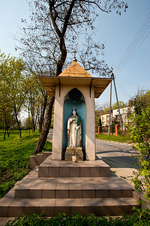 Wayside shrine, Starachowice, Poland