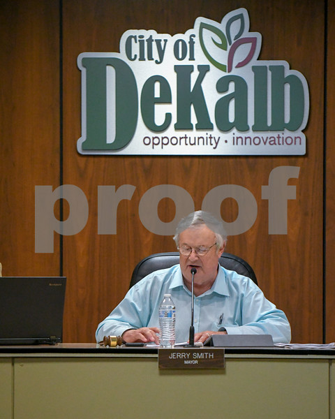 Mayor Jerry Smith briefly speaks about the Tif issue and clarifying the agenda during September 10th meeting.