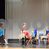 "Artists and peer mentors in CCT's Penguin Project act out a scene from ""Hairspray Jr."" during dress rehearsal on Friday, Sept. 6. ""Hairspray Jr."" will be performed at Sycamore High School Thursday, Sept. 12, through Sunday, Sept. 15."