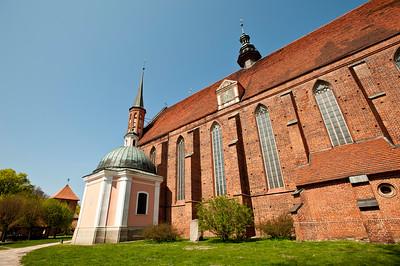 Cathedral, Frombork, Warmia Region, Poland