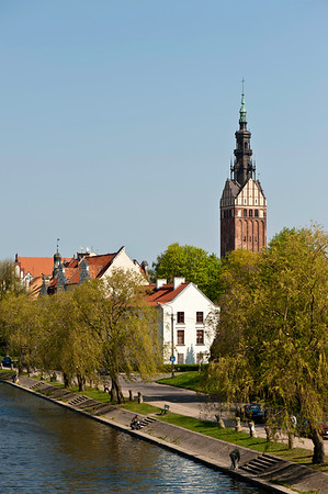 Restored Old Town, Elblag, Warmia Region, Poland