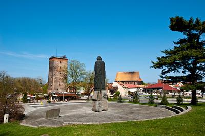 Copernicus Monument, Frombork, Warmia Region, Poland