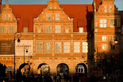 Green Gate, Gdansk, Poland