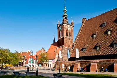 Historic Old Mill, Gdansk, Poland