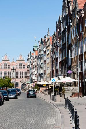 Ulica Piwna, Old Town, Gdansk, Poland