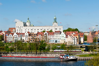 Castle of Pomeranian Dukes, Old Town and Oder River, Szczecin, Poland
