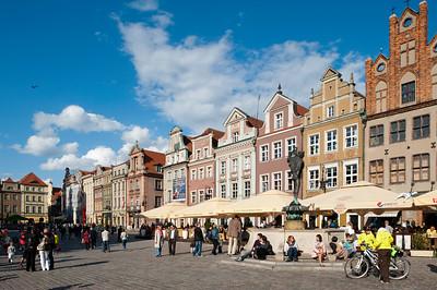 Stary Rynek, Poznan, Wielkopolska, Poland