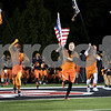 "Sam Buckner for Shaw Media.<br /> The Dekalb ""Morphmen"" lead the DeKalb Barbs onto the field on Friday September 15, 2017."