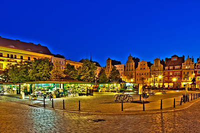 Flower market on Solny Square, Wroclaw, Poland