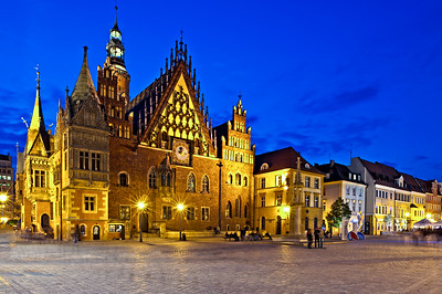 Town Hall, Old Town, Wroclaw, Poland
