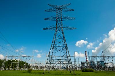 Coal powered power station, Opole, Silesia, Poland