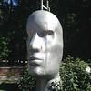 Sculpture, outside Student Center